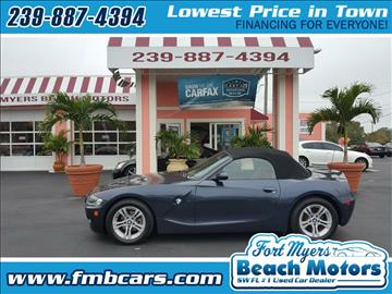 2005 BMW Z4 for sale in Fort Myers, FL