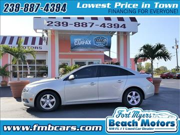 2013 Chevrolet Cruze for sale in Fort Myers, FL