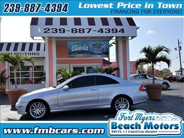 2008 Mercedes-Benz CLK for sale in Fort Myers, FL