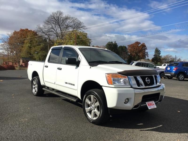 Nissan Titan SV In Prosser WA Hall ChevroletBuick - Nissan buick