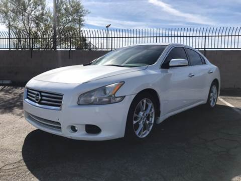 2012 Nissan Maxima for sale in Las Vegas, NV
