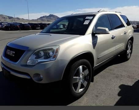 2010 GMC Acadia for sale in Las Vegas, NV