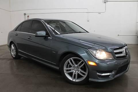 2012 Mercedes-Benz C-Class for sale at Insight Motors in Tempe AZ