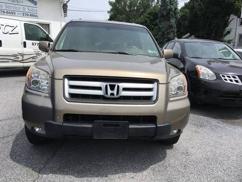 2008 Honda Pilot for sale at LEB-MYER MOTORS in Lebanon PA