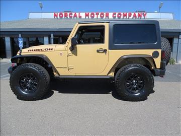 2014 Jeep Wrangler for sale in Auburn, CA