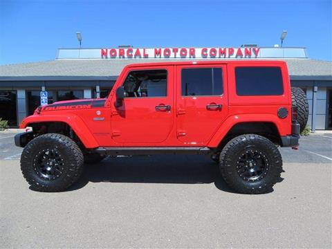 2017 Jeep Wrangler Unlimited for sale in Auburn, CA