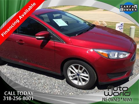 2015 Ford Focus for sale in Many LA
