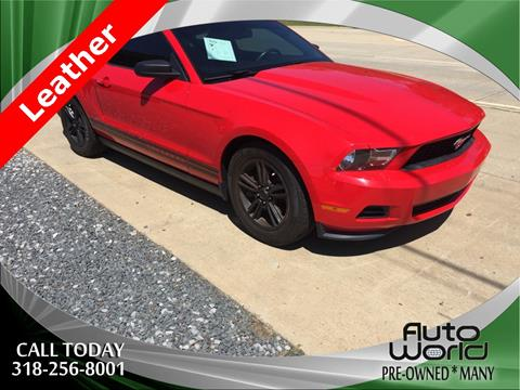 2012 Ford Mustang for sale in Many LA