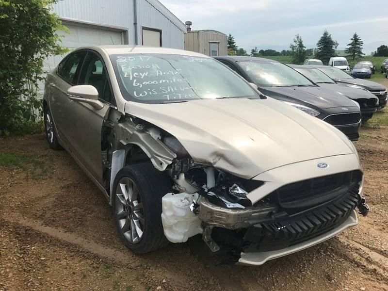 2017 Ford Fusion for sale at Don's Sport Cars in Hortonville WI