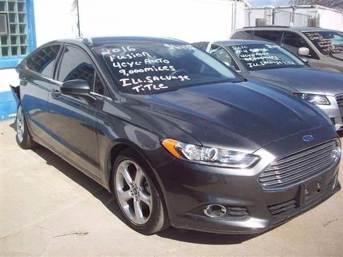 2016 Ford Fusion for sale at Don's Sport Cars in Hortonville WI
