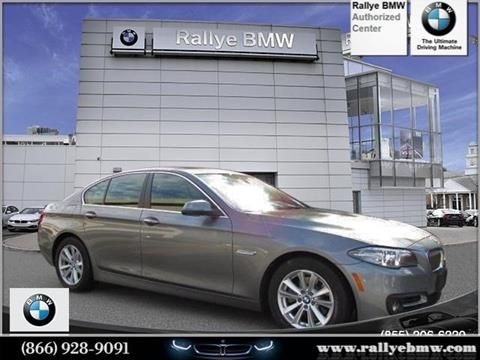 2016 BMW 5 Series for sale in Westbury, NY