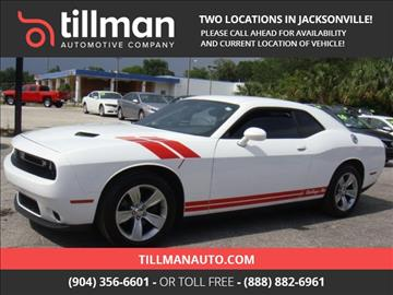 2016 Dodge Challenger for sale in Jacksonville, FL
