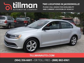 2016 Volkswagen Jetta for sale in Jacksonville, FL