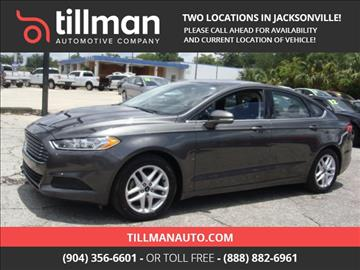 2016 Ford Fusion for sale in Jacksonville, FL