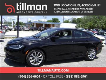 2015 Chrysler 200 for sale in Jacksonville, FL