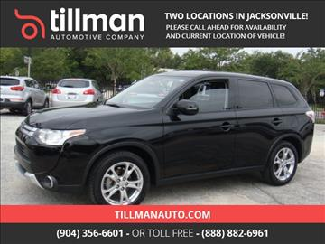 2015 Mitsubishi Outlander for sale in Jacksonville, FL