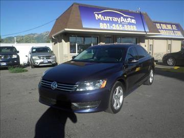 2013 Volkswagen Passat for sale in Salt Lake City, UT
