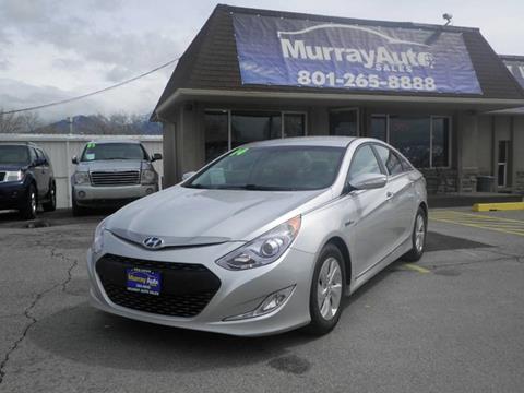 2014 Hyundai Sonata Hybrid for sale in Salt Lake City, UT