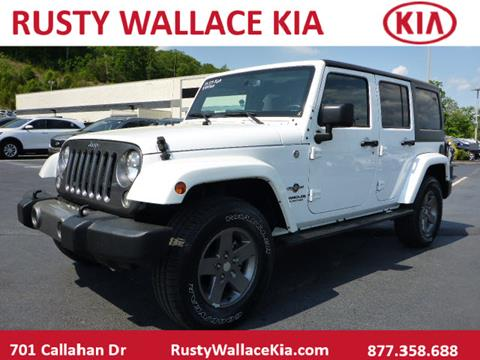 2015 Jeep Wrangler Unlimited for sale in Knoxville, TN
