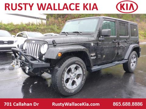 2017 Jeep Wrangler Unlimited for sale in Knoxville, TN