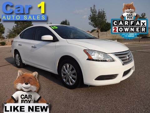 2015 Nissan Sentra for sale in Albuquerque, NM