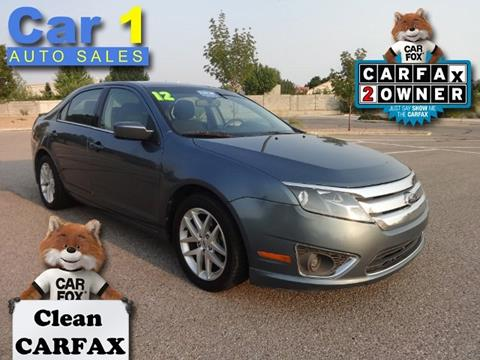 2012 Ford Fusion for sale in Albuquerque, NM