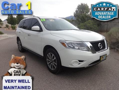 2013 Nissan Pathfinder for sale in Albuquerque, NM