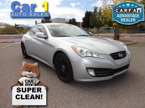 2011 Hyundai Genesis Coupe for sale in Albuquerque, NM