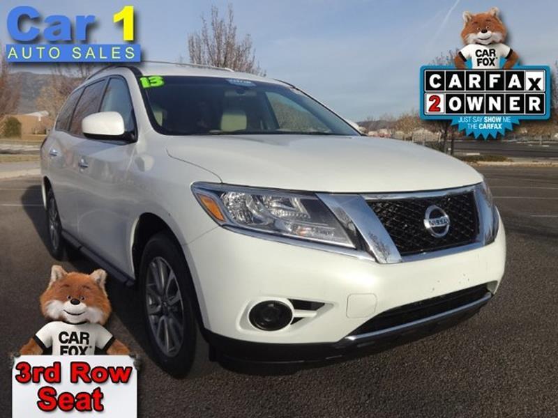 2013 Nissan Pathfinder In Albuquerque NM - Car 1 Auto Sales