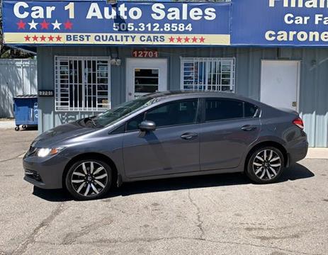 2015 Honda Civic for sale in Albuquerque, NM