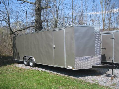 2017 Diamond C Enclosed Cargo Trailer for sale at Right Pedal Auto Sales INC in Wind Gap PA