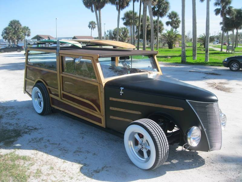 1937 Ford Model A Woody Street Rod Wagon Woodie In Pen Argyl PA ...