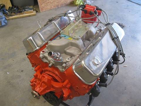 1967 Chevrolet 396 V8 Rebuilt Engine Turn Key for sale at Right Pedal Auto Sales INC in Wind Gap PA