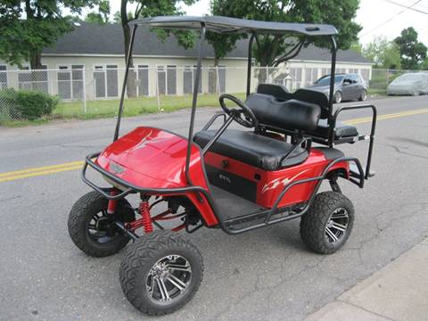 2008 E-Z-GO Lifted Club Car Golf Cart for sale at Right Pedal Auto Sales INC in Wind Gap PA