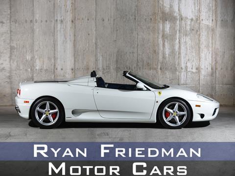 2001 Ferrari 360 Challenge Stradale for sale in Valley Stream, NY
