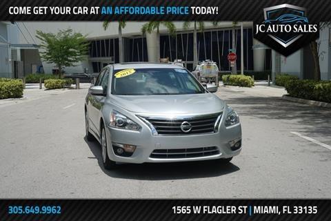 Jc Auto Sales >> Nissan Altima For Sale In Miami Fl J C Auto Sales Inc