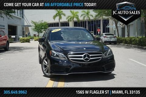 Jc Auto Sales >> Mercedes Benz E Class For Sale In Miami Fl J C Auto Sales Inc