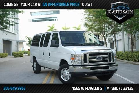 2013 Ford E-Series Wagon for sale in Miami, FL