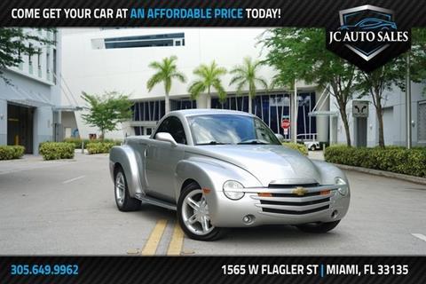 Jc Auto Sales >> Chevrolet Ssr For Sale In Miami Fl J C Auto Sales Inc