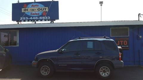 2000 Chevrolet Tracker for sale in Puyallup, WA