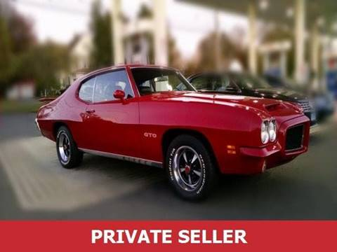 1971 Pontiac GTO for sale in Puyallup, WA