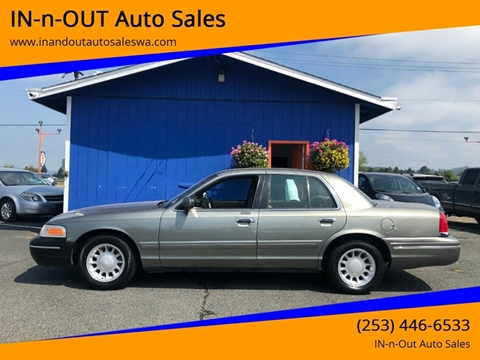 2000 Ford Crown Victoria for sale in Puyallup, WA