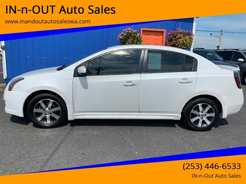 2012 Nissan Sentra for sale in Puyallup, WA