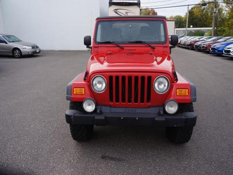 2005 Jeep Wrangler for sale in Ellsworth, WI