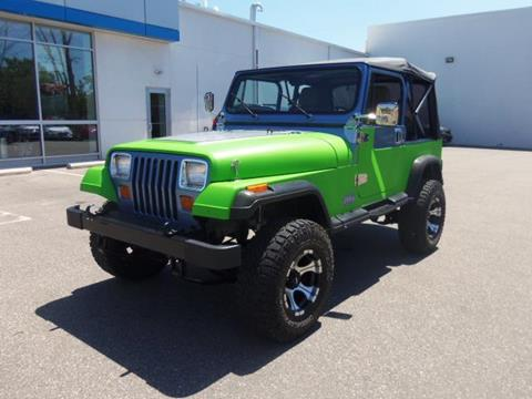 1988 Jeep Wrangler for sale in Ellsworth, WI