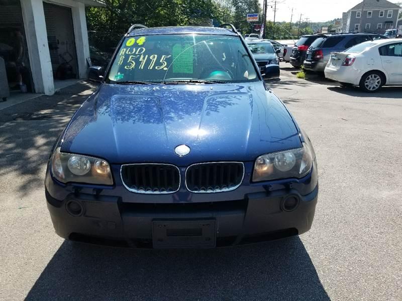 2004 BMW X3 for sale at Rte 3 Auto Sales in West Warwick RI