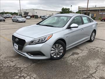 2017 Hyundai Sonata Hybrid for sale in Cedar Rapids, IA