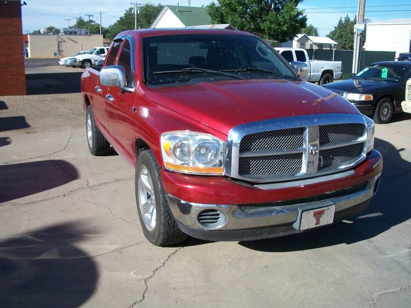 2006 Dodge Ram Pickup 1500 for sale at W & W MOTORS in Clovis NM