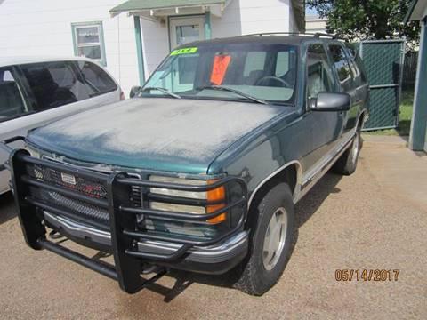 1996 GMC Yukon for sale at W & W MOTORS in Clovis NM