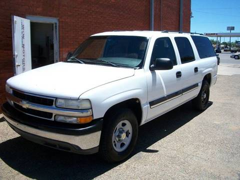 2004 Chevrolet Suburban for sale at W & W MOTORS in Clovis NM